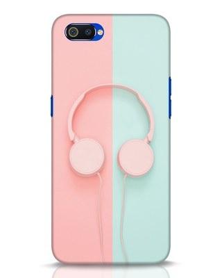 Shop Pastel Music Realme C2 Mobile Cover-Front