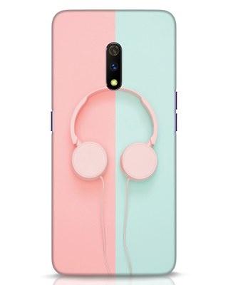 Shop Pastel Music Realme X Mobile Cover-Front