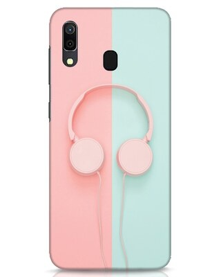 Shop Pastel Music Samsung Galaxy A30 Mobile Cover-Front