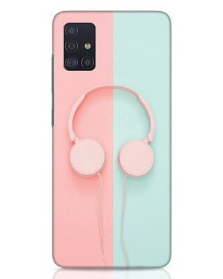 Shop Pastel Music Samsung Galaxy A51 Mobile Cover-Front