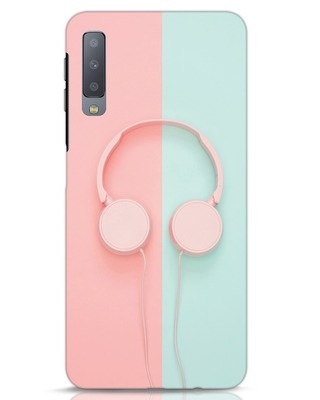 Shop Pastel Music Samsung Galaxy A7 Mobile Cover-Front