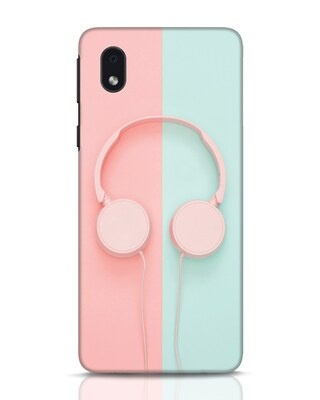 Shop Pastel Music Samsung Galaxy M01 Mobile Cover-Front