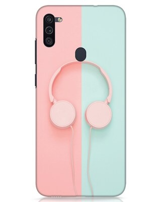 Shop Pastel Music Samsung Galaxy M11 Mobile Cover-Front