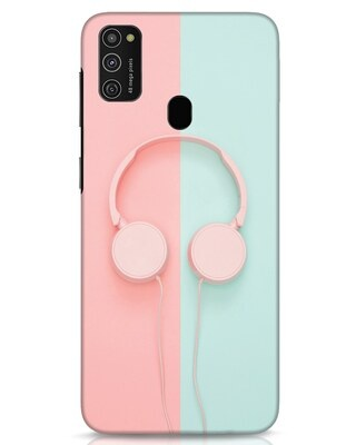 Shop Pastel Music Samsung Galaxy M21 Mobile Cover-Front
