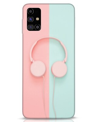 Shop Pastel Music Samsung Galaxy M31s Mobile Cover-Front