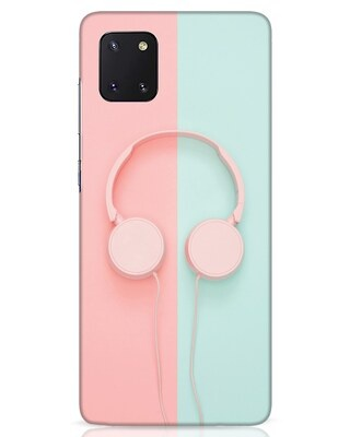 Shop Pastel Music Samsung Galaxy Note 10 Lite Mobile Cover-Front