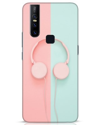 Shop Pastel Music Vivo V15 Mobile Cover-Front