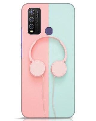 Shop Pastel Music Vivo Y50 Mobile Cover-Front