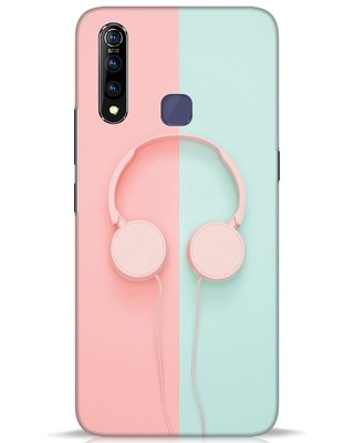 Shop Pastel Music Vivo Z1 Pro Mobile Cover-Front