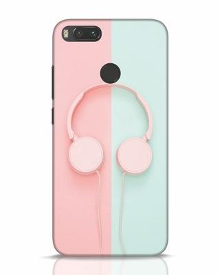 Shop Pastel Music Xiaomi Mi A1 Mobile Cover-Front
