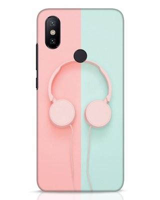 Shop Pastel Music Xiaomi Mi A2 Mobile Cover-Front
