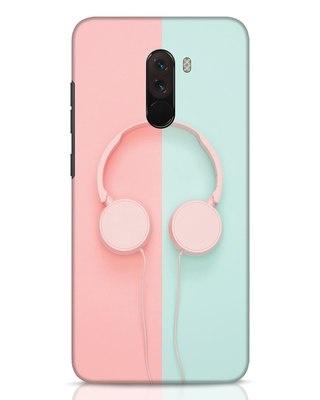 Shop Pastel Music Xiaomi POCO F1 Mobile Cover-Front