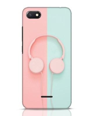 Shop Pastel Music Xiaomi Redmi 6A Mobile Cover-Front