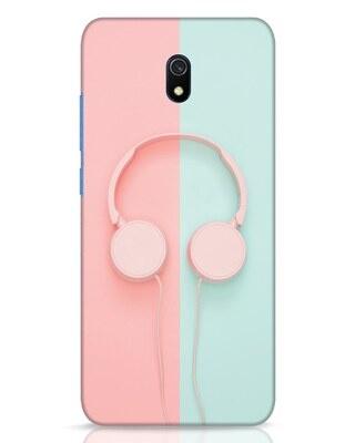 Shop Pastel Music Xiaomi Redmi 8A Dual Mobile Cover-Front