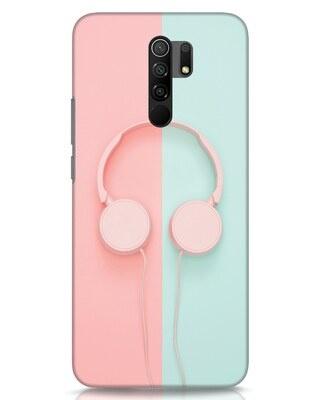 Shop Pastel Music Xiaomi Redmi 9 Prime Mobile Cover-Front