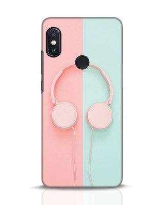 Shop Pastel Music Xiaomi Redmi Note 5 Pro Mobile Cover-Front