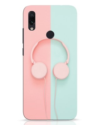 Shop Pastel Music Xiaomi Redmi Note 7 Pro Mobile Cover-Front