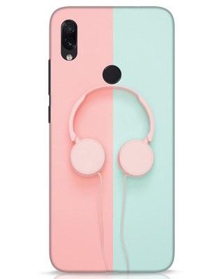 Shop Pastel Music Xiaomi Redmi Note 7s Mobile Cover-Front