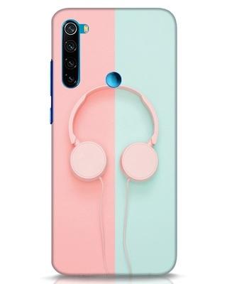 Shop Pastel Music Xiaomi Redmi Note 8 Mobile Cover-Front