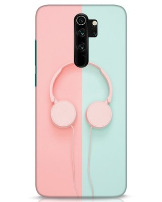 Shop Pastel Music Xiaomi Redmi Note 8 Pro Mobile Cover-Front
