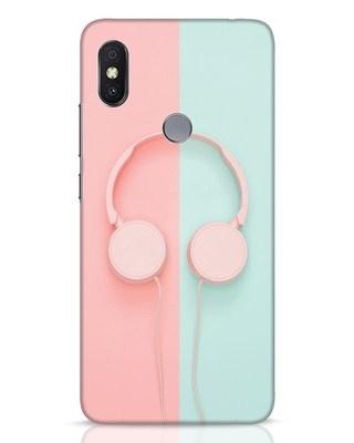 Shop Pastel Music Xiaomi Redmi Y2 Mobile Cover-Front