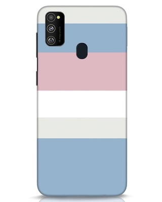 Shop Pastels Stripes Samsung Galaxy M30s Mobile Cover-Front