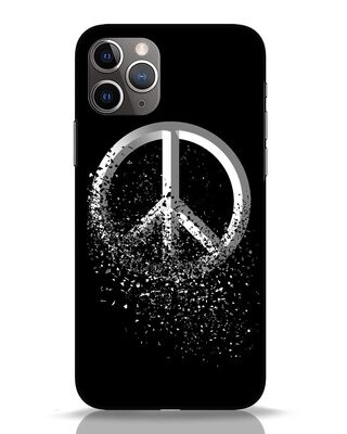 Shop Peace Dispersion iPhone 11 Pro Mobile Cover-Front
