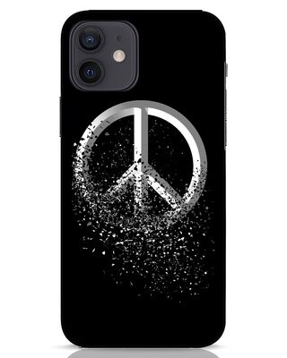 Shop Peace Dispersion iPhone 12 Mobile Cover-Front