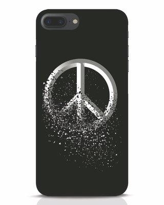 Shop Peace Dispersion iPhone 7 Plus Mobile Cover-Front