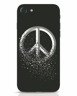 Shop Peace Dispersion iPhone 8 Mobile Cover-Front