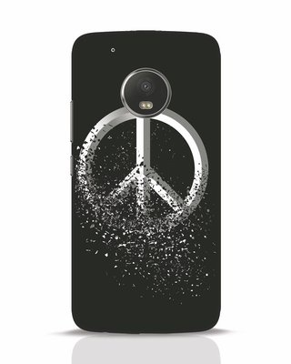 Shop Peace Dispersion Moto G5 Plus Mobile Cover-Front