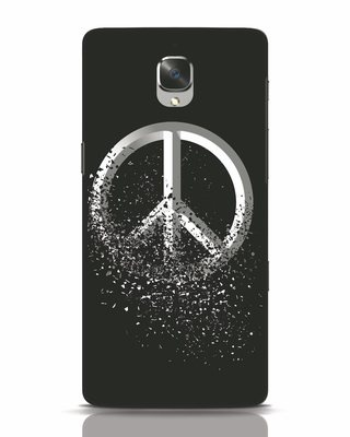 Shop Peace Dispersion OnePlus 3 Mobile Cover-Front