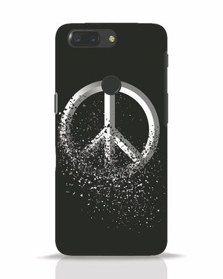 Shop Peace Dispersion OnePlus 5T Mobile Cover-Front