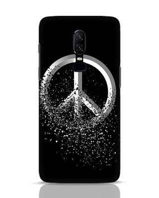 Shop Peace Dispersion OnePlus 6 Mobile Cover-Front
