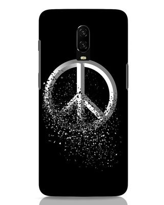 Shop Peace Dispersion OnePlus 6T Mobile Cover-Front