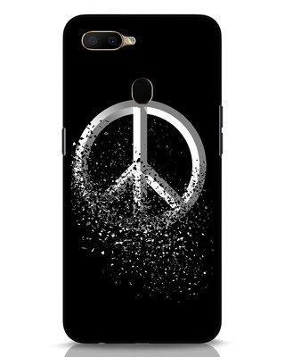Shop Peace Dispersion Oppo A5s Mobile Cover-Front