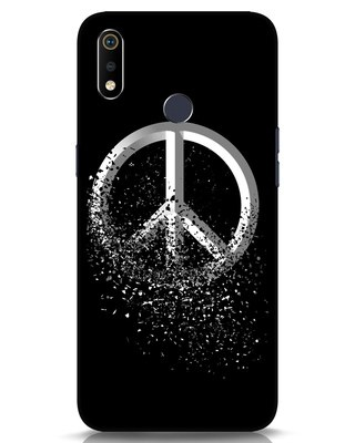 Shop Peace Dispersion Realme 3i Mobile Cover-Front