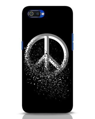 Shop Peace Dispersion Realme C2 Mobile Cover-Front