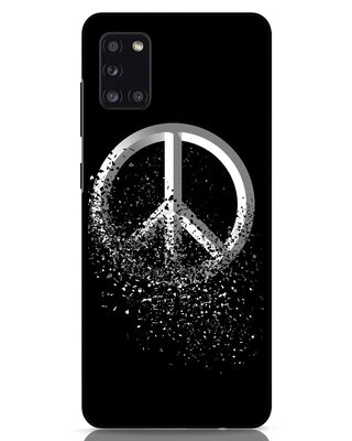 Shop Peace Dispersion Samsung Galaxy A31 Mobile Cover-Front