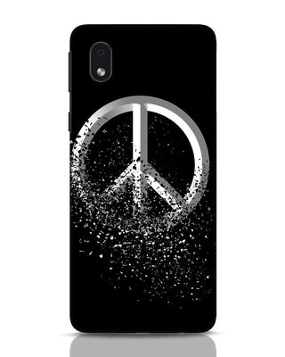 Shop Peace Dispersion Samsung Galaxy M01 Mobile Cover-Front