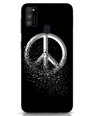 Shop Peace Dispersion Samsung Galaxy M30s Mobile Cover-Front