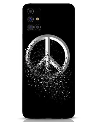 Shop Peace Dispersion Samsung Galaxy M31s Mobile Cover-Front