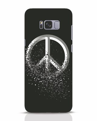 Shop Peace Dispersion Samsung Galaxy S8 Plus Mobile Cover-Front