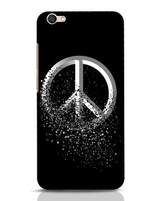 Shop Peace Dispersion Vivo V5 Mobile Cover-Front