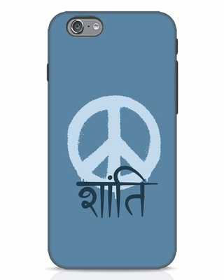 Shop Peace Shanti iPhone 6 Mobile Cover-Front