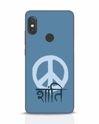 Shop Peace Shanti Xiaomi Redmi Note 5 Pro Mobile Cover-Front