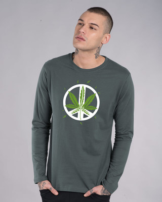 Shop Higher peace Full Sleeve T-Shirt-Front
