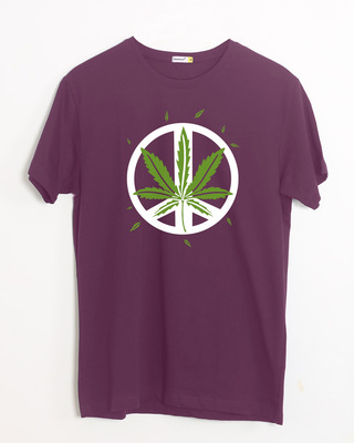 Shop Higher peace Half Sleeve T-Shirt-Front