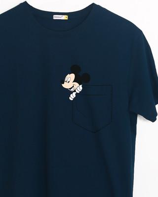 Buy Peek-a-boo Half Sleeve T-Shirt (DL) Online India @ Bewakoof.com
