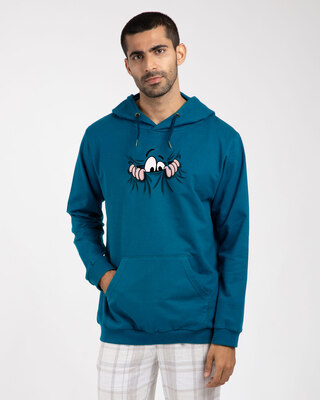 Shop Peek Out Fleece Hoodie-Front